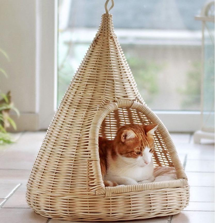 плетенный домик